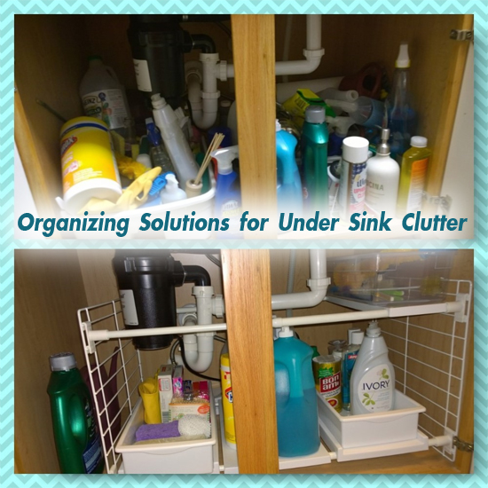 How to Organize Clutter Under your Sink - North Texas Kids Magazine
