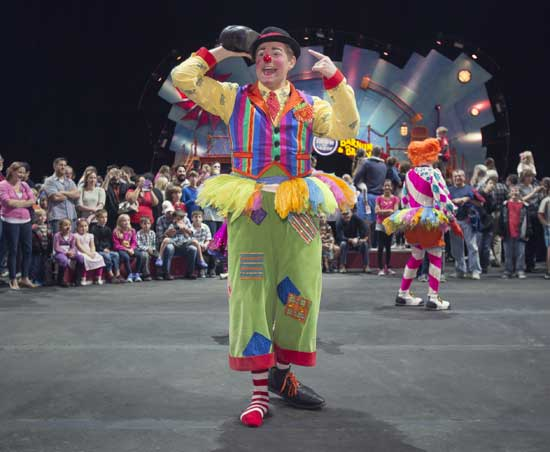 Ringling Bros World Record Attempt