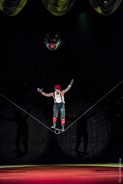 Evgeny Vasilenko - La Fete - Lone Star Circus - Dallas Children's Theater - North Texas Kids Magazine (CMD)