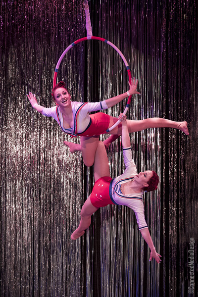 Circus2Wins - Megan and Morgan - La Fete - Lone Star Circus - Dallas Children's Theater - North Texas Kids Magazine (CMD)
