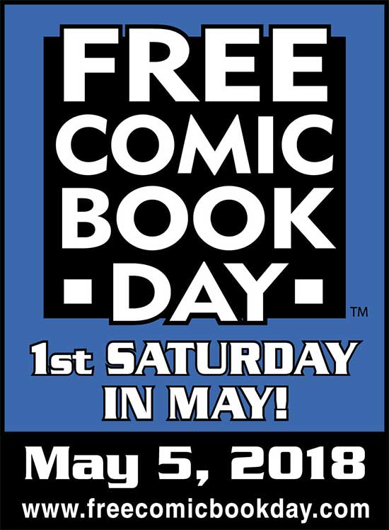 Free Comic Book Day 2018 - North Texas Kids