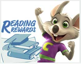 Chuck E. Cheese's Summer Reading Program - North Texas Kids Magazine