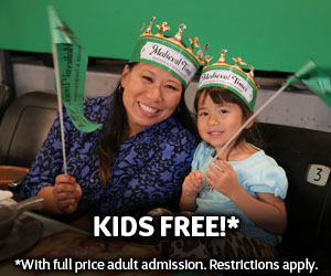 Free Kids Admission - Medieval Times Dallas - North Texas Kids Magazine
