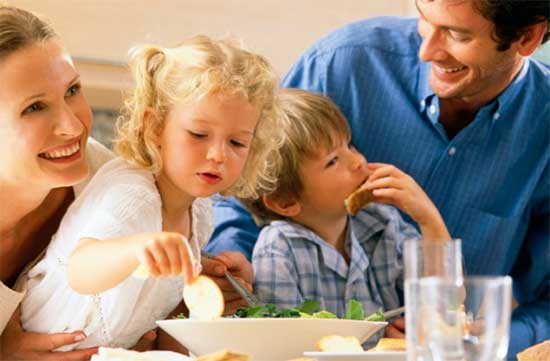 family meal time - north texas kids magazine
