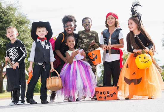 Halloween Trick or Treaters - North Texas Kids Magazine
