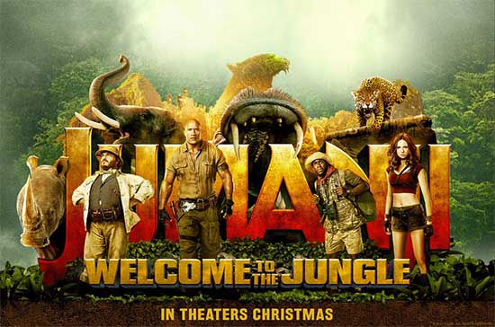 Jumanji Welcome to the Jungle review - Mina Frannea - North Texas Kids Magazine