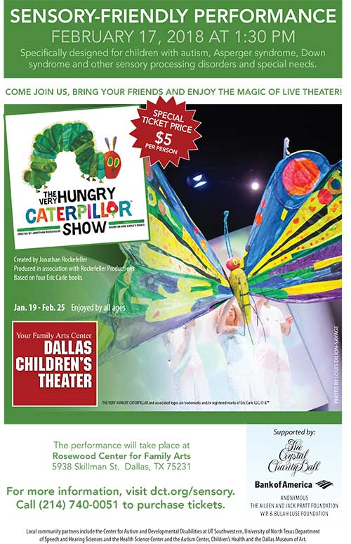 Sensory Friendly - The Hungry Caterpillar - North Texas Kids