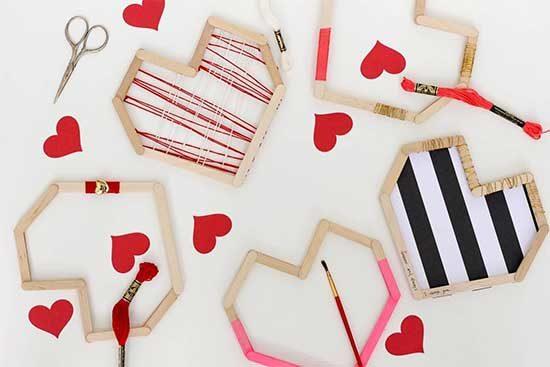 Classroom Valentines - Popsicle Stick Valentines