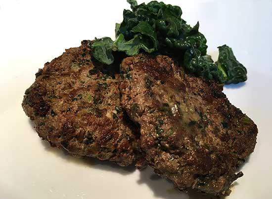 Kale Beef Burgers - North Texas Kids