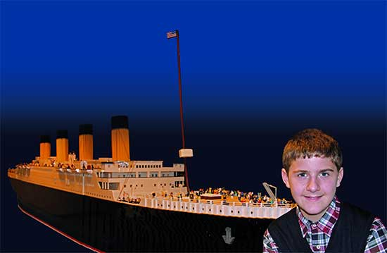 Titanic LEGO Ship - North Texas Kids