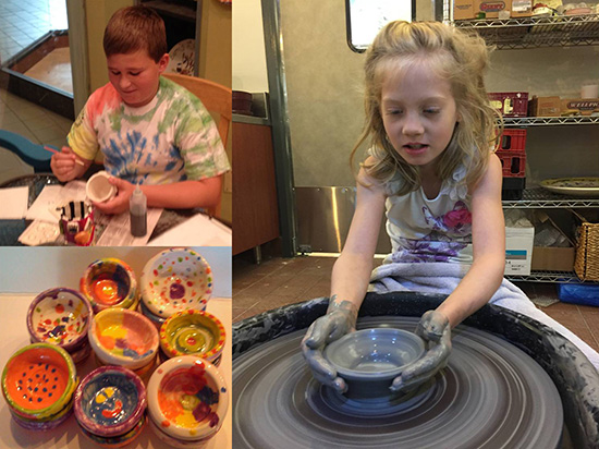 DFW Summer Camps - Paint My Pottery Willow Bend - North Texas Kids