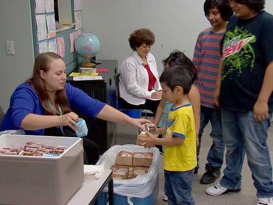 Free Summer Meals for Kids - North Texas Kids