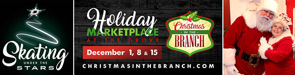 Christmas in The Branch - holiday fun - North Texas Kids