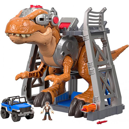 Imagintext Jurassic World Jurassic Rex - Hot toys for 2018 - North Texas Kids