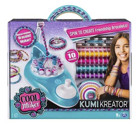 KumiKreator Friendship Bracelet Maker - Hot toys for 2018 - North Texas Kids