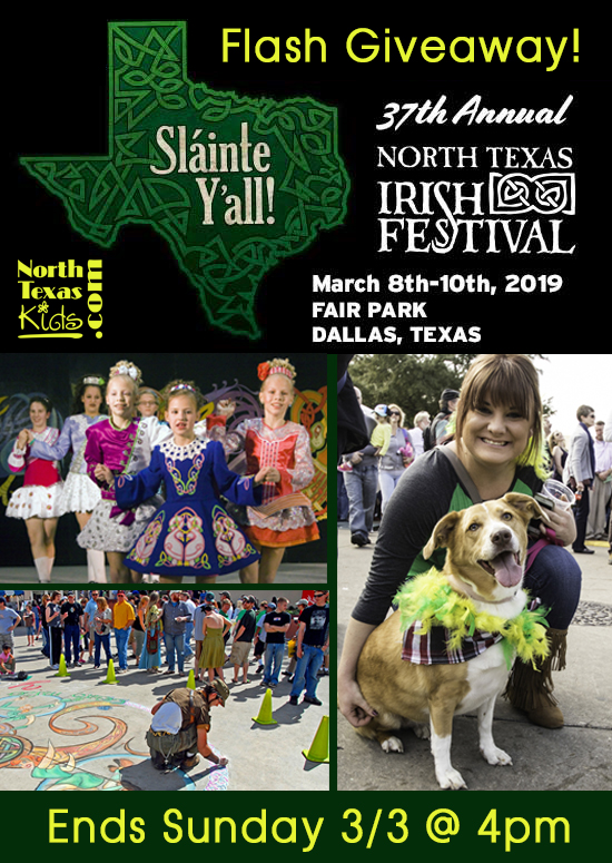 North Texas Irish Festival Giveaway - North Texas Kids