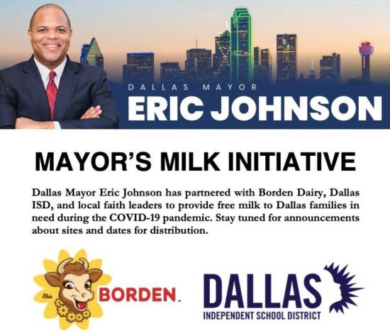 Mayor's Milk Initiative - North Texas Kids