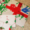 Making Handmade Gift Wrap with Your Child