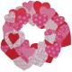 Easy Kids Craft: Paper Heart Wreath