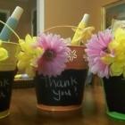 Easy Teacher Appreciation Gift: DIY Chalkboard Gift Basket