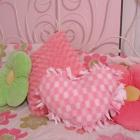 Easy Beginner's Craft: No Sew Fleece Pillow