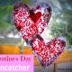 Valentine Crafts : Valentine Sun Catcher