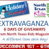 Holiday Giveaway EXTRAVAGANZA!