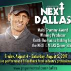 NEXT DALLAS Talent Search August 4th & 5th