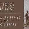 Genealogy Expo: Finding the Lost