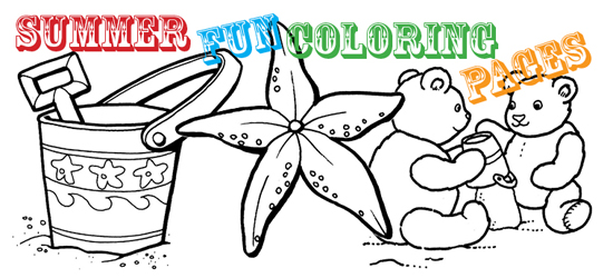 North Texas Kidssummer Fun Coloring Pages North Texas Kids